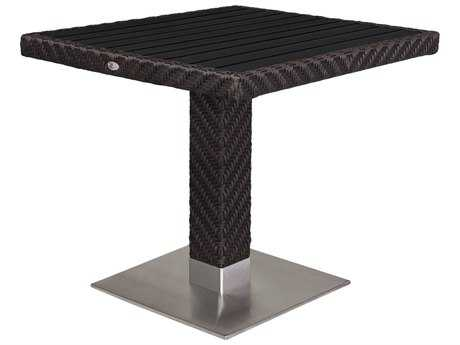 Source Outdoor Furniture Arizona Wicker 32 Square Dining Table