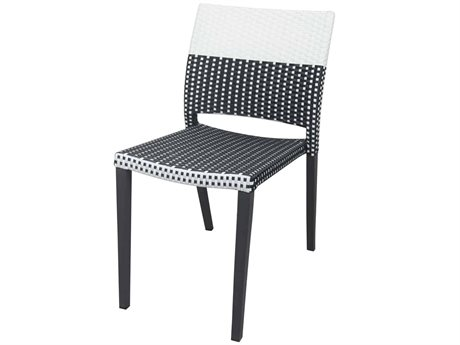 Source Contract Chloe Aluminum Wicker Dining Chair