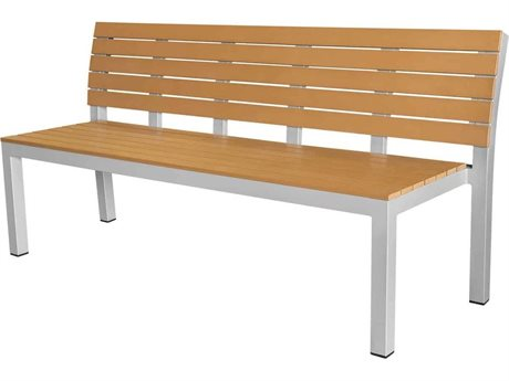 Source Contract Vienna Aluminum Wood Bench