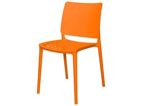 Source Outdoor Furniture Marcay Resin Dining Side Chair