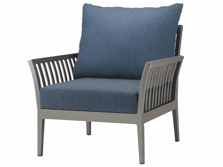 Source Outdoor Furniture Nouveau Aluminum Cushion Lounge Chair PatioLiving