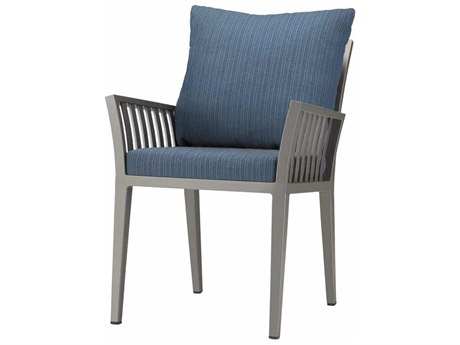 Source Outdoor Furniture Nouveau Aluminum Dining Arm Chair PatioLiving