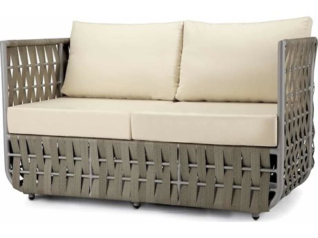 Source Outdoor Furniture Scorpio Aluminum Cushion Loveseat