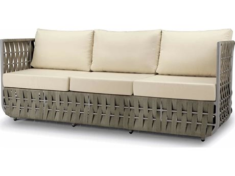 Source Outdoor Furniture Scorpio Aluminum Cushion Sofa