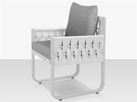 Source Outdoor Furniture Scorpio Aluminum Cushion Dining Chair