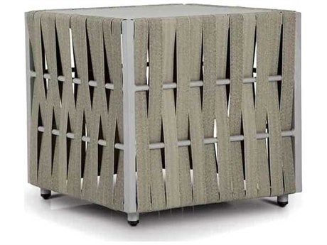 Source Outdoor Furniture Scorpio 21'' Wide Aluminum Square End Table