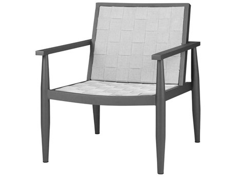 Source Outdoor Furniture Danish Aluminum Sling Strap Lounge Chair