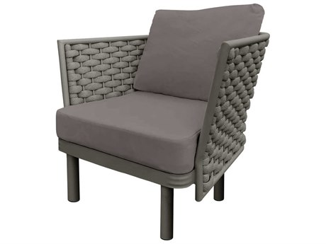Source Outdoor Furniture Luxe Aluminum Cushion Lounge Chair