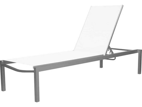 Source Outdoor Furniture Fusion Aluminum Sling Armless Chaise Lounge