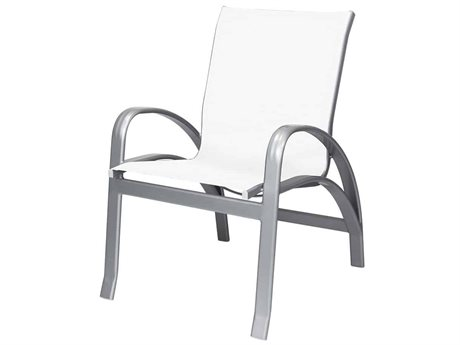 Source Outdoor Furniture Atlantic Aluminum Sling Dining Chair