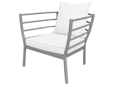 Source Outdoor Furniture Astoria Aluminum Cushion Lounge Chair PatioLiving