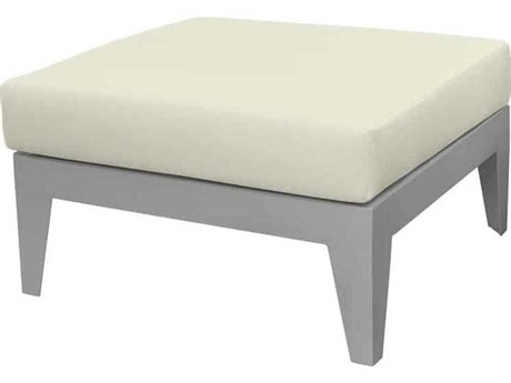Source Outdoor Furniture South Beach Aluminum Ottoman