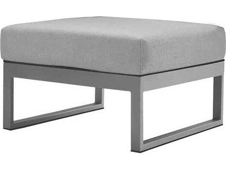 Source Outdoor Furniture Modera Aluminum Ottoman