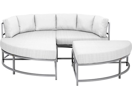 Source Outdoor Furniture Delano Aluminum Cushion Lounge Bed