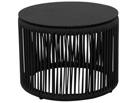 Source Outdoor Furniture Skye Aluminum 20'' Wide Round End Table
