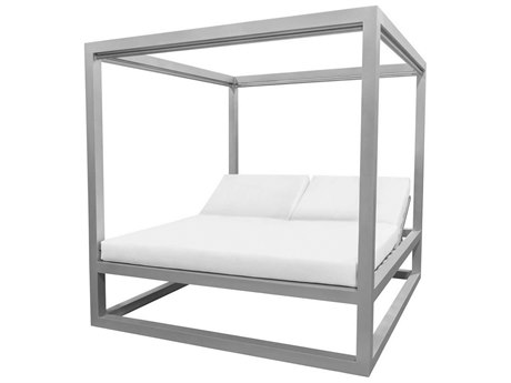 Source Outdoor Furniture Breeze Aluminum Daybed Square