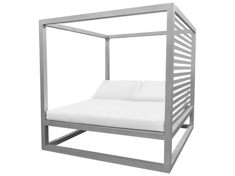 Source Outdoor Furniture Breeze Daybed Optional Aluminum Slats Right Side PatioLiving