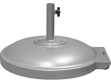 Source Outdoor Furniture Rio Aluminum 135 Lbs Umbrella Base with Wheels