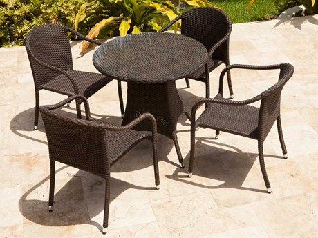 Source Outdoor Furniture Circa Wicker Dining Set