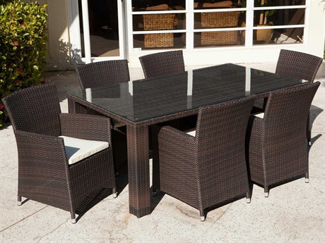 Source Outdoor Furniture St. Tropez Wicker Dining Set