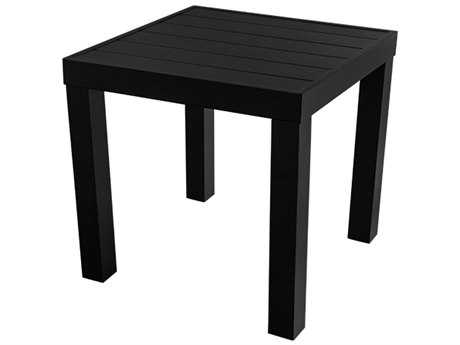 Source Outdoor Furniture Liam Aluminum 18 Square End Table
