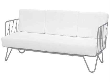 Source Outdoor Furniture Tribeca Steel Cushion Sofa