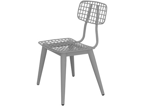 Source Outdoor Furniture Tribeca Steel Dining Side Chair in Style 6 PatioLiving