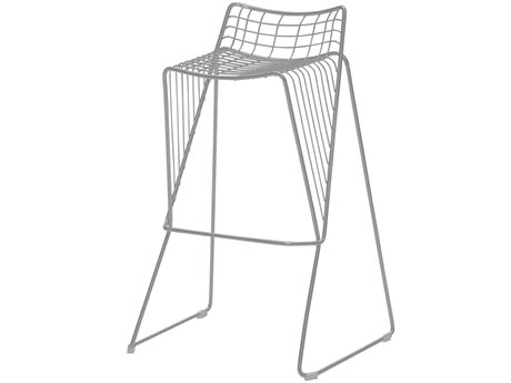 Source Outdoor Furniture Tribeca Steel Stackable Bar Stool in Style 5 PatioLiving