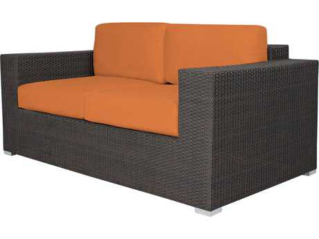 Source Outdoor Furniture King Wicker Loveseat