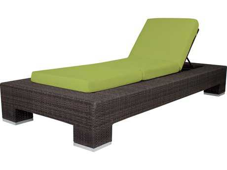Source Outdoor Furniture King Wicker Armless Chaise