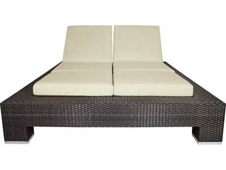 Source Outdoor Furniture King Armless Double Chaise Replacement Cushion
