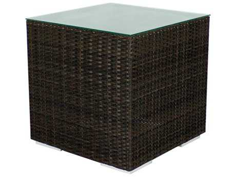 Source Outdoor Furniture King Wicker 24 Square End Table