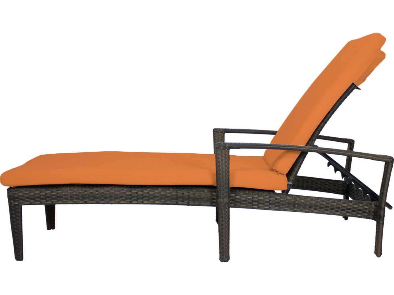 Source outdoor furniture zen wicker chaise scso2002104 for Source outdoor furniture