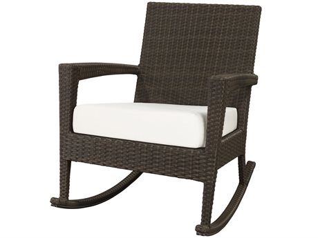 Source Outdoor Furniture Zen Wicker Rocker Lounge Chair PatioLiving