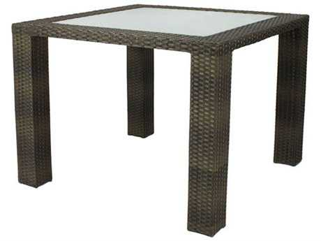 Source Outdoor Furniture Zen Wicker 40 Square Dining Table