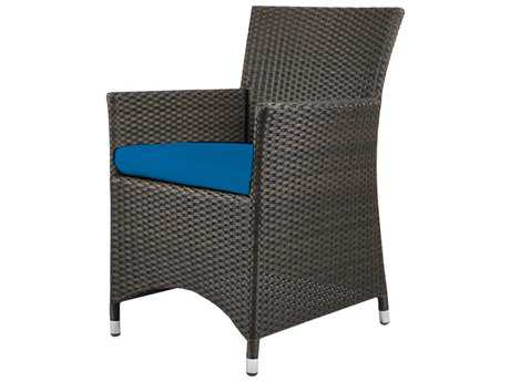 Source Outdoor Furniture St. Tropez Wicker Dining Arm Chair