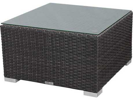 Source Outdoor Furniture St. Tropez Wicker 24 Square Coffee Table