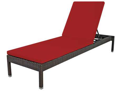 Source Outdoor Furniture Manhattan Wicker Armless Chaise