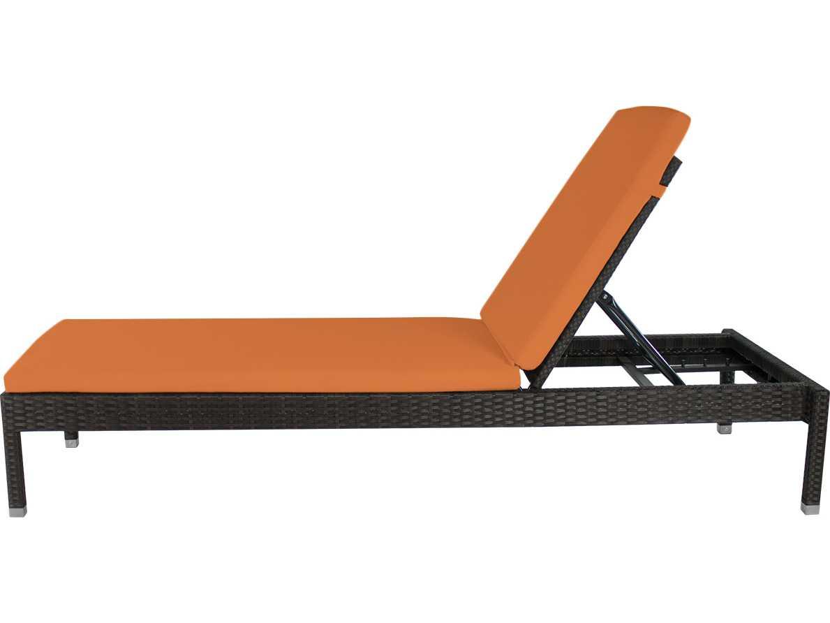 Source outdoor furniture manhattan wicker armless chaise for Source outdoor furniture