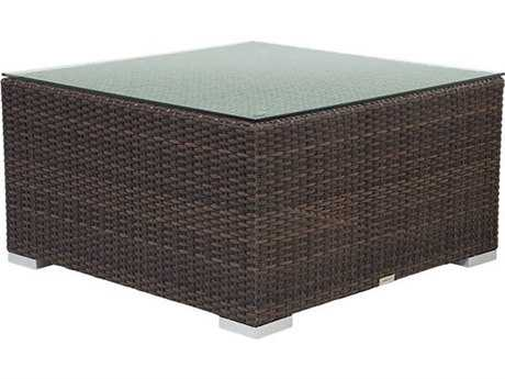 Source Outdoor Furniture Manhattan Wicker 26 Square Coffee Table