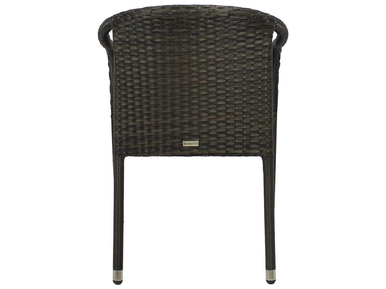 Source outdoor furniture circa wicker stackable dining for Source outdoor furniture