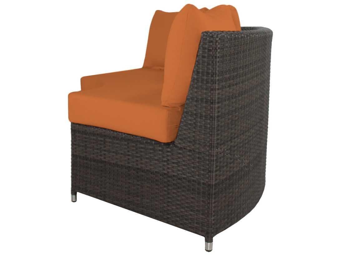 Source Outdoor Furniture Wicker Circa 3 Seat Bench Highback So 2006 186