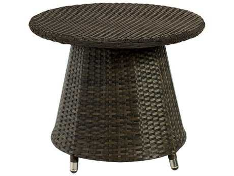 Source Outdoor Furniture Circa Wicker 24 Round Small Coffee Table