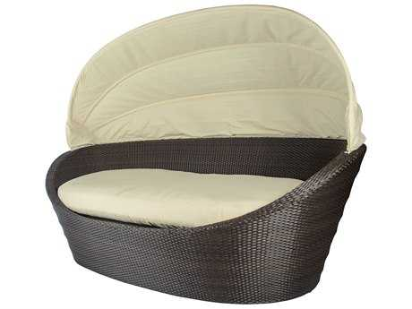 Source Outdoor Furniture Hampton Wicker Large Oval Daybed