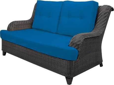 Source Outdoor Furniture Tahiti Wicker Loveseat