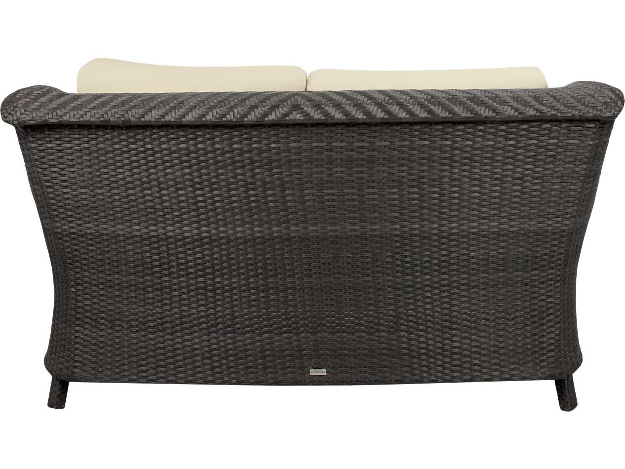 Source outdoor furniture tahiti wicker loveseat so 2011 102 for Source outdoor furniture