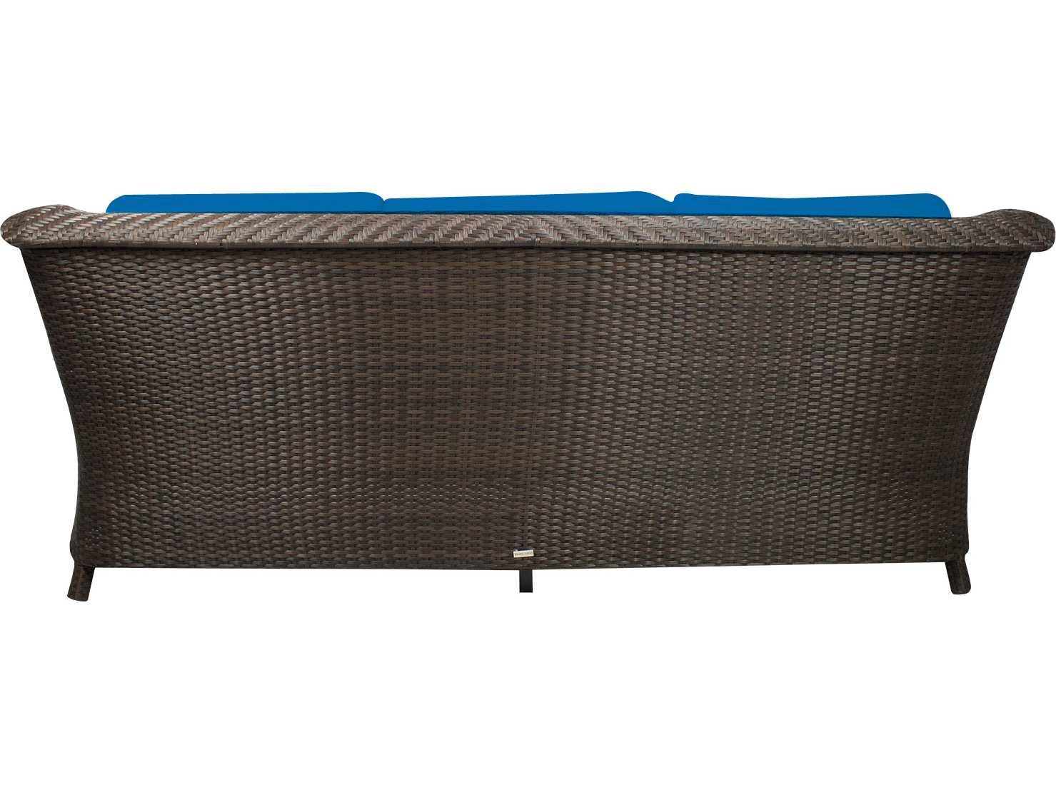 Source outdoor furniture tahiti wicker sofa so 2011 103 for Source outdoor furniture