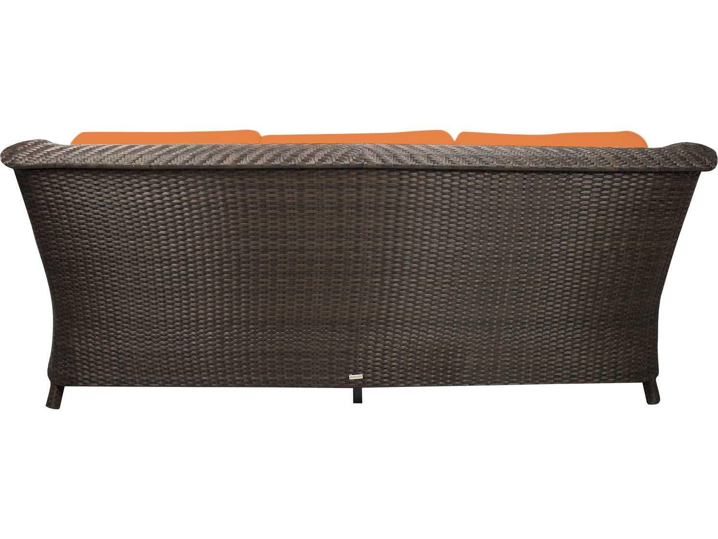 Source outdoor furniture tahiti wicker sofa scso2011103 for Source outdoor furniture