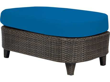 Source Outdoor Furniture Tahiti Wicker Rectangular Large Ottoman