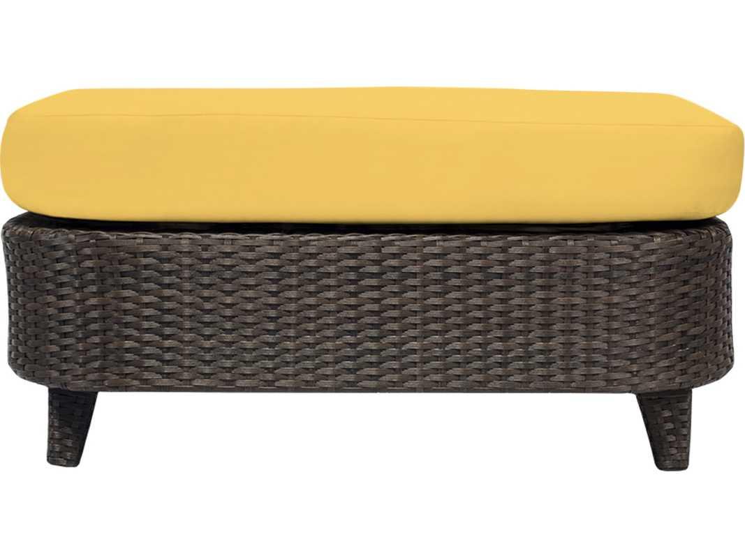 Source outdoor furniture taihiti large ottoman rectangular for Source outdoor furniture